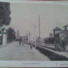 Postales: MURCIA, PASEO DEL MALECON, FOTO BELLIDO. . Lote 53122604
