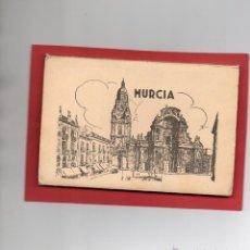 Postales: MURCIA. ALBUM CON 10 POSTALES COLOREADAS, GARABELLA. Lote 53497391