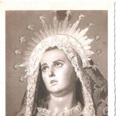 Postales: MURCIA ESCULTURAS DE SALCILLO LA SOLEDAD. Lote 53595231