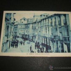 Postales: LORCA MURCIA CALLE DEL GENERALISIMO. Lote 53983468