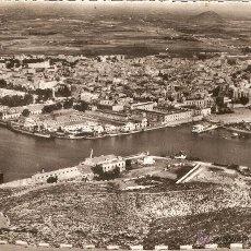 Postales: CARTAGENA Nº52 VISTA DEL PUERTO Y VISTA GENERAL CASAÚ CIRC. EN 1955. Lote 54009650