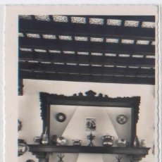 Postales: POSTAL MURCIA HOTEL VICTORIA CHIMENEA DEL COMEDOR ED. ARRIBAS N0 250. Lote 54157140