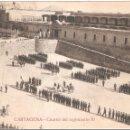 Postales: CARTAGENA CUARTEL DEL REGIMIENTO 70. Lote 105231119
