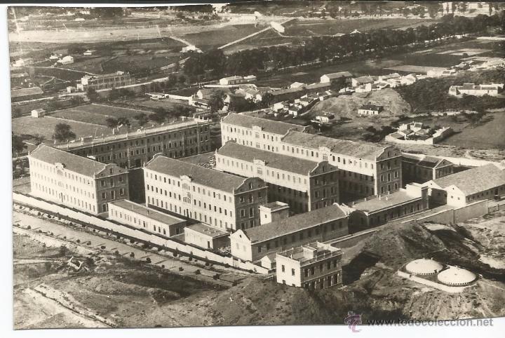 LORCA - VISTA PARCIAL DEL CUARTEL DE INFANTERÍA - Nº 18 (Postales - España - Murcia Moderna (desde 1.940))