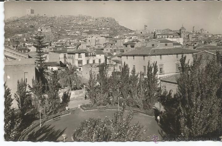 LORCA - GLORIETA DE CALDERÓN DE LA BARCA - Nº 38 EDICIONES ARRIBAS (Postales - España - Murcia Moderna (desde 1.940))