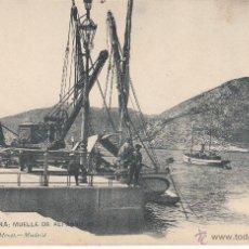 Postales: POSTAL CARTAGENA-MUELLE DE ALFONSO XII - HAUSER Y MENET NUM. 1162. Lote 54718827