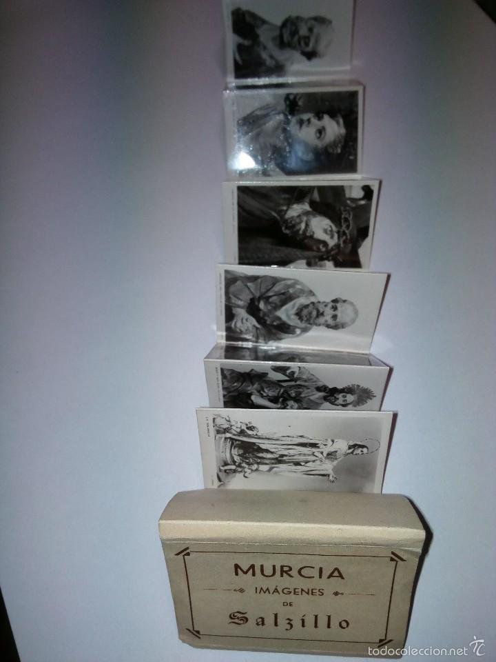 MINI BLOCK POSTALES IMAGENES SALZILLO MURCIA J LOPEZ (Postales - España - Murcia Antigua (hasta 1.939))