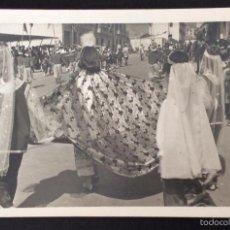 Postales: FOTOGRAFÍA FORMATO POSTAL.DESFILE EN FIESTAS. CARAVACA. MURCIA. Lote 55322099