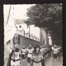Postales: FOTOGRAFÍA FORMATO POSTAL.GRUPO FESTEROS. CARAVACA. MURCIA . Lote 55322338