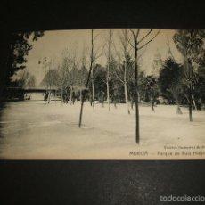 Postales: MURCIA PARQUE DE RUIZ HIDALGO. Lote 55404065