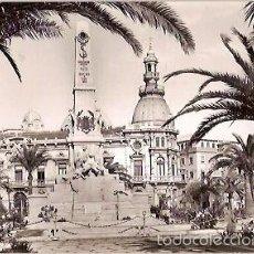 Postales: ANTIGUA POSTAL 1010 CARTAGENA MONUMENTO A LOS HEROES DE CAVITE Y AYUNTAMIENTO EDICIONES ARRIBAS. Lote 55565792
