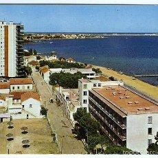 Postales: Nº 7 SANTIAGO DE LA RIBERA, MAR MENOR, MURCIA. HOTEL LOS ARCOS Y CRUZ DEL MAR MENOR. SUBIRATS CASANO. Lote 55993223