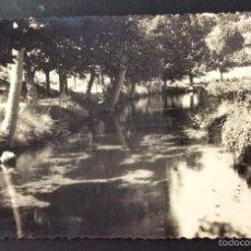 Postales: FOTOGRAFÍA FORMATO POSTAL. PAISAJE DEL RÍO. CARAVACA. MURCIA.. Lote 56528676