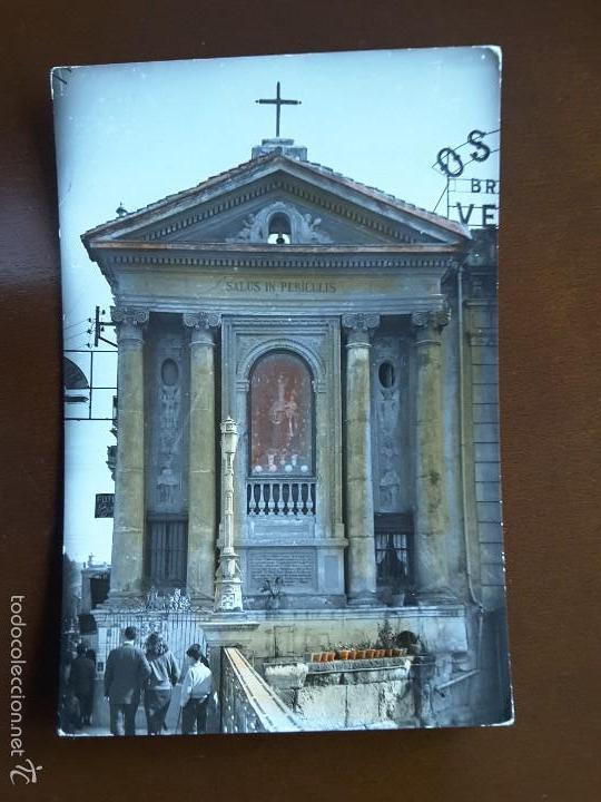 POSTAL MURCIA - PUENTE VIEJO Y VIRGEN DE LOS PELIGROS (Postales - España - Murcia Antigua (hasta 1.939))