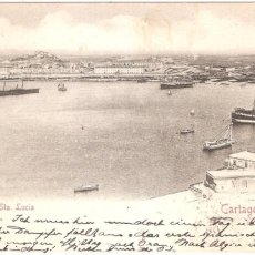 Postales: CARTAGENA STA. LUCIA 1902. Lote 56970299