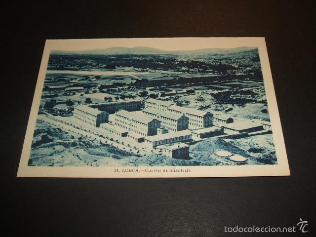 LORCA MURCIA CUARTEL DE INFANTERIA (Postales - España - Murcia Antigua (hasta 1.939))