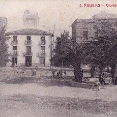 Postales: AGUILAS. GLORIETA DEL CASINO - FOTOTIPIA CASTAÑEIRA Y ALVAREZ. MADRID – EDICIÓN EXTRA. Lote 57208749