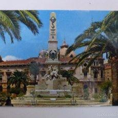 Postales: CARTAGENA. MONUMENTO A LOS HÉROES. . Lote 57530793