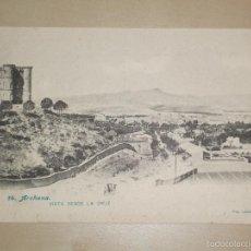 Postales: TARJETA POSTAL BAÑOS DE ARCHENA 14 VISTA DESDE LA CRUZ - FOTO LACOSTE MURCIA ANTERIOR A 1905. Lote 57578622