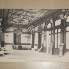 Cartes Postales: TARJETA POSTAL BAÑOS DE ARCHENA 11 CASINO SALÓN DE BAILE - MURCIA ANTERIOR A 1905. Lote 57578843