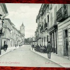Postales: LORCA (MURCIA) CALLE DE LA CORREDERA. (ED. DIARIO DE AVISOS).SIN CIRCULAR. Lote 57618231