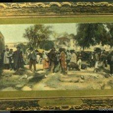 Postales: MURCIA. MERCADO DE GANADOS. EDICION SUCESORES DE NOGUES, MURCIA, Nº 209. FOTOGRAFICA.. Lote 58120538