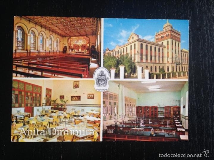 POSTAL DE MURCIA - COLEGIO MARISTA LA MERCED (Postales - España - Murcia Moderna (desde 1.940))