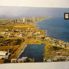 Cartes Postales: POSTAL LA MANGA DEL MAR MENOR CABO PALOS Y PUERTO. Lote 58998305