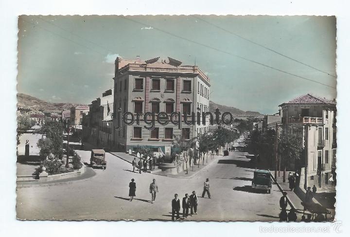 CIEZA, MURCIA. POSTAL. 3-PLAZA DEL CANÓNIGO MARTINEZ. CASA CESARAUGUSTA.EDICIÓN ANIBAL RUIZ. (Postales - España - Murcia Moderna (desde 1.940))