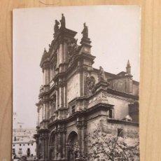 Postales: POSTAL DE LORCA - FACHADA DE LA EXCOLEGIATA. Lote 60937291