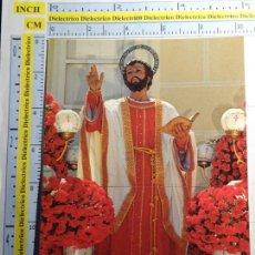 Cartes Postales: POSTAL DE MURCIA. CARTAGENA, COFRADÍA CALIFORNIA SEMANA SANTA, SANTIAGO APOSTOL. 1366. Lote 61443091