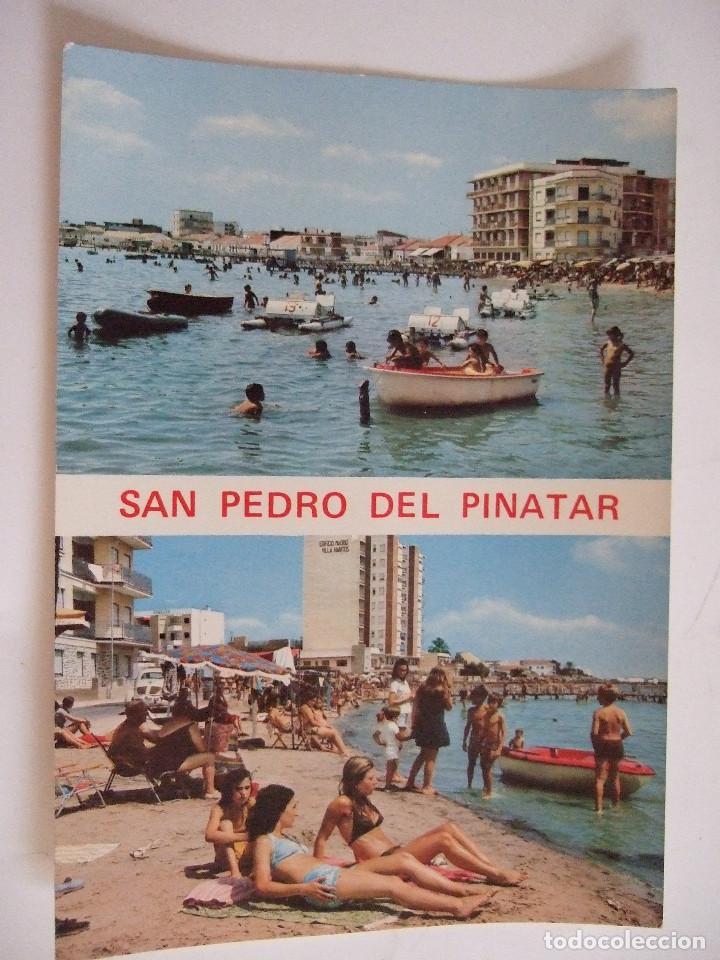 POSTAL MURCIA - SAN PEDRO DEL PINATAR - LO PAGAN - 1972 - DIAMANTE RIOSAN - SIN CIRCULAR (Postales - España - Murcia Moderna (desde 1.940))