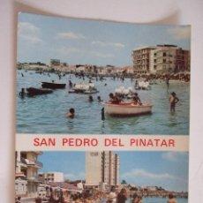 Postales: POSTAL MURCIA - SAN PEDRO DEL PINATAR - LO PAGAN - 1972 - DIAMANTE RIOSAN - SIN CIRCULAR. Lote 62163892