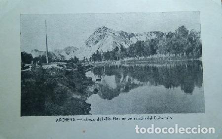 ARCHENA CABEZO DEL TIIO PIO EN UN RINCON DEL BALNEARIO MURCIA (Postales - España - Murcia Antigua (hasta 1.939))