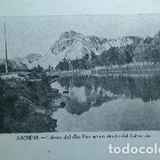 Postales: ARCHENA CABEZO DEL TIIO PIO EN UN RINCON DEL BALNEARIO MURCIA. Lote 62768692