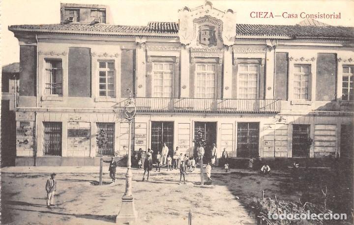 CIEZA (MURCIA).- CASA CONSISTORIAL (Postales - España - Murcia Antigua (hasta 1.939))
