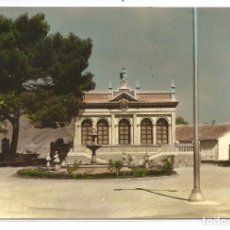Postales: ABARÁN .- BIBLIOTECA MUNICIPAL .- EDI. PAPELERIA TEMPLADO .- I.A. SANTA FE 1965. Lote 63451888