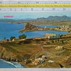 Postales: POSTAL DE MURCIA. AÑO 1968. ÁGUILAS, VISTA DESDE EL HORNILLO. 442. Lote 64324899