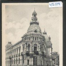 Postales: CARTAGENA - 4 - PALACIO DEL AYUNTAMIENTO-VIUDA LASSERE - VER REVERSO -(ZG- 45.119). Lote 64684507