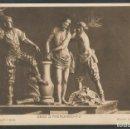 Postales: COLECCION SALZILLO - BESO O PRENDIMIENTO - HAUSER Y MENET - VER REVERSO SIN DIVIDIR -(ZG- 45.134). Lote 64699131