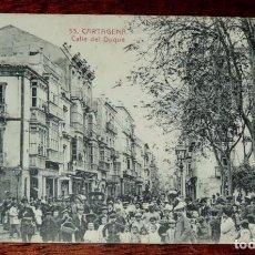 Postales: CARTAGENA, CALLE DEL DUQUE, 33 LA INDUSTRIAL FOTOGRAFICA, SIN CIRCULAR. Lote 67231493