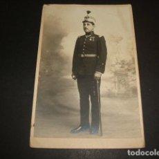Postales: CARTAGENA MURCIA RETRATO MILITAR 1917 HARO HERMANOS FOTOGRAFO POSTAL FOTOGRAFICA . Lote 67321653