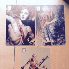 Postales: 3 POSTALES RELIGIOSAS MUSEO SALZILLO MURCIA. Lote 68542009