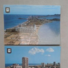 Postales: LOTE DE 2 POSTALES DE LA MANGA DEL MAR MENOR. MURCIA.. Lote 69366869