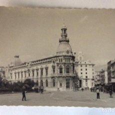 Postales: POSTAL FOTOGRÁFICA. EDIFICIO DEL AYUNTAMIENTO. CARTAGENA. MURCIA.. Lote 70278317