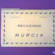 Postales: BLOC MURCIA - 10 POSTALES - EDICIONES ARRIBAS. Lote 70324461