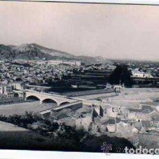 Postales: LORCA MURCIA. FOTOGRÁFICA. AÑOS 40. PUENTE Y BARRIO DE SAN CRISTOBAL.. Lote 72107203