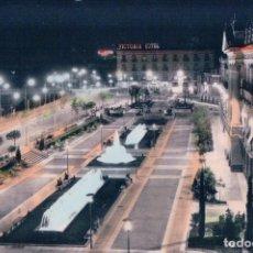 Postales: MURCIA - GLORIETA ESPAÑA - VISTA DE NOCHE - AL FONDO HOTEL VICTORIA - CIRCULADA - ARRIBAS 1098. Lote 74241327