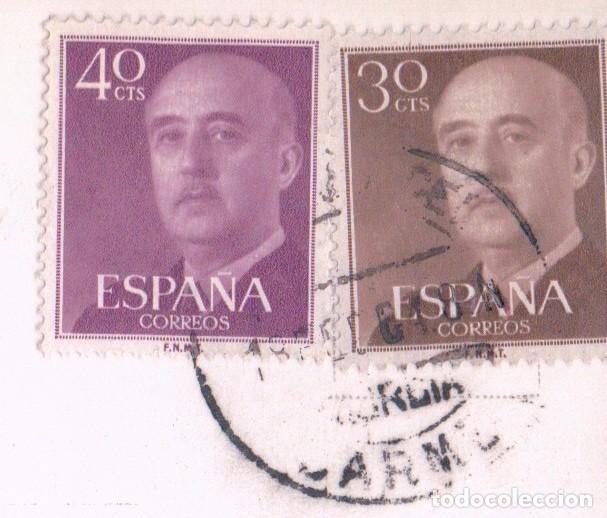 Postales: MURCIA - GLORIETA ESPAÑA - VISTA DE NOCHE - AL FONDO HOTEL VICTORIA - CIRCULADA - ARRIBAS 1098 - Foto 3 - 74241327
