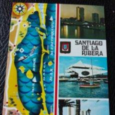 Postales: SANTIAGO DE LA RIBERA MURCIA. Lote 143972646